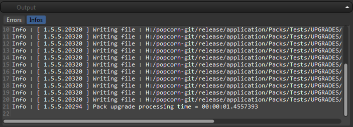 Popcorn-Fx Project upgrade infos