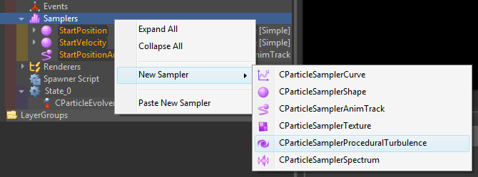 Add new particle sampler