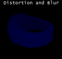 Distortion & Blur used for depth of field / heat distortions